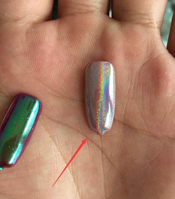 Silver Holographic Chameleon Pigment Powder Nails In Nail Art Templates From Beauty Health On Aliexpress Alibaba Group