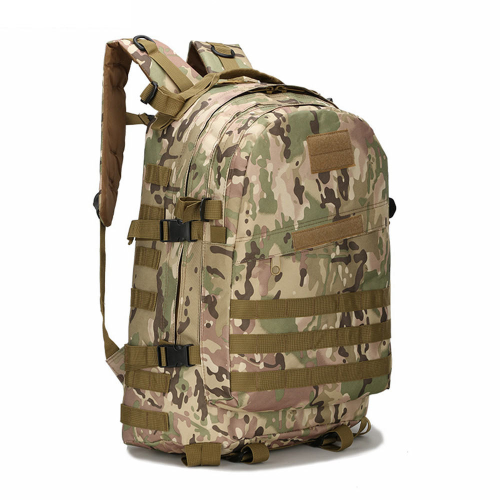 NEW 40L Molle 3D Tactical Outdoor Military Rucksack Backpack Waterproof  Oxford Camping Hiking Shoulder Bag 9 Colors Available-in Climbing Bags from  Sports ... b9f38fe072112
