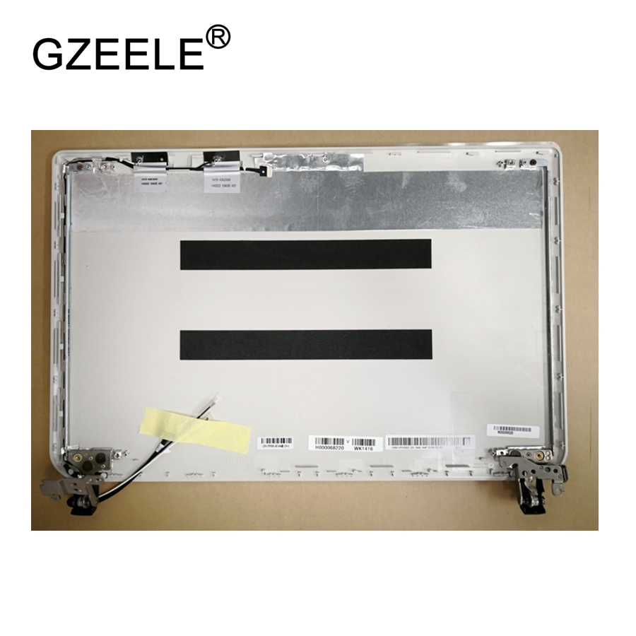 GZEELE new Laptop for Toshiba Satellite L40 L40-B L45-B LCD Screen Display Back Case Cover white lcd top cover hammer electric zubr sop 30 900 vc