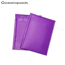 10PCS #000 4x8 122x178mm Purple Poly Bubble Mailer Padded Envelope Self Seal Mailing bag bubble envelope shipping envelopes