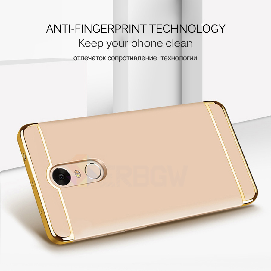 Luxury Hard Case For Xiaomi Redmi Note 4 4X 5A with Full Coverage 2