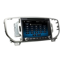 Fit for kia SPORTAGE R 2016 Android 5.1.1 system 1024*600 car dvd player gps navigation radio 3G wifi bluetooth