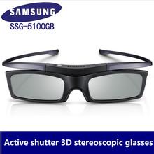 Oficjalne oryginalne okulary 3D ssg-5100GB 3D aktywne okulary Bluetooth dla wszystkich Samsung 3D serial telewizyjny tanie tanio ZIICOYO SSG1 Brak Hybrydowy Wciągające Migawki Okulary Tylko Pakiet 1