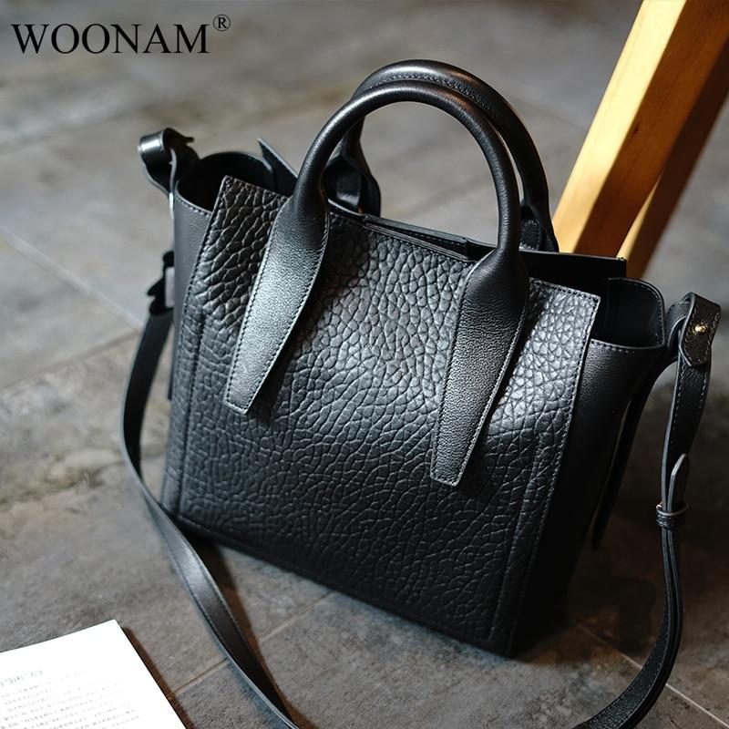 Moyen tout Main Woonam Veau Mode Véritable En Sac Wb893 Femmes Exquis Shopper À Italie Fourre Cuir wqBPRfCq