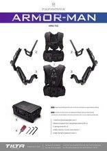 Tilta Armorman2.0 tiltamax ARM-T02 Ultimate Gimbal para DJI Ronin2/MOVI pro/envío libre