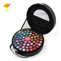 Miss Rose Cosmetic 67 Colors Eyeshadow Palette Hang Bag Eye Shadow + Cheeck Podwer Professional Makeup Set With 6pcs Brush