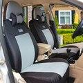 (Передние + Задние) Универсальный Автомобилей Чехлы Для SsangYong Korando Actyon Kyron Rexton Председателя ЧЕРНЫЙ/СЕРЫЙ автомобиль авто аксессуары