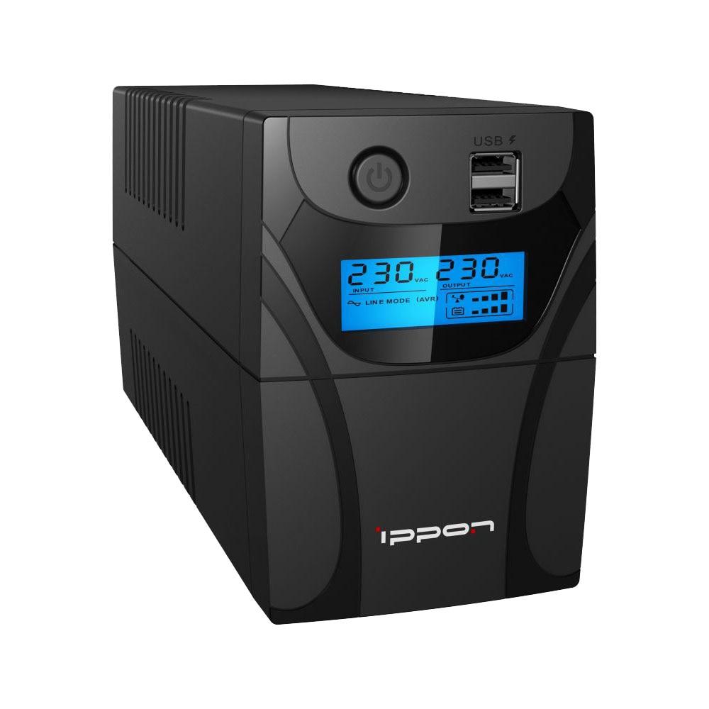 Uninterruptible Power Supply Ippon Back Power Pro II Euro 850 Home Improvement Electrical Equipment & Supplies (UPS) [zob] heng wei waterproof switching power supply 12v8 5a lpv 100 12 100w