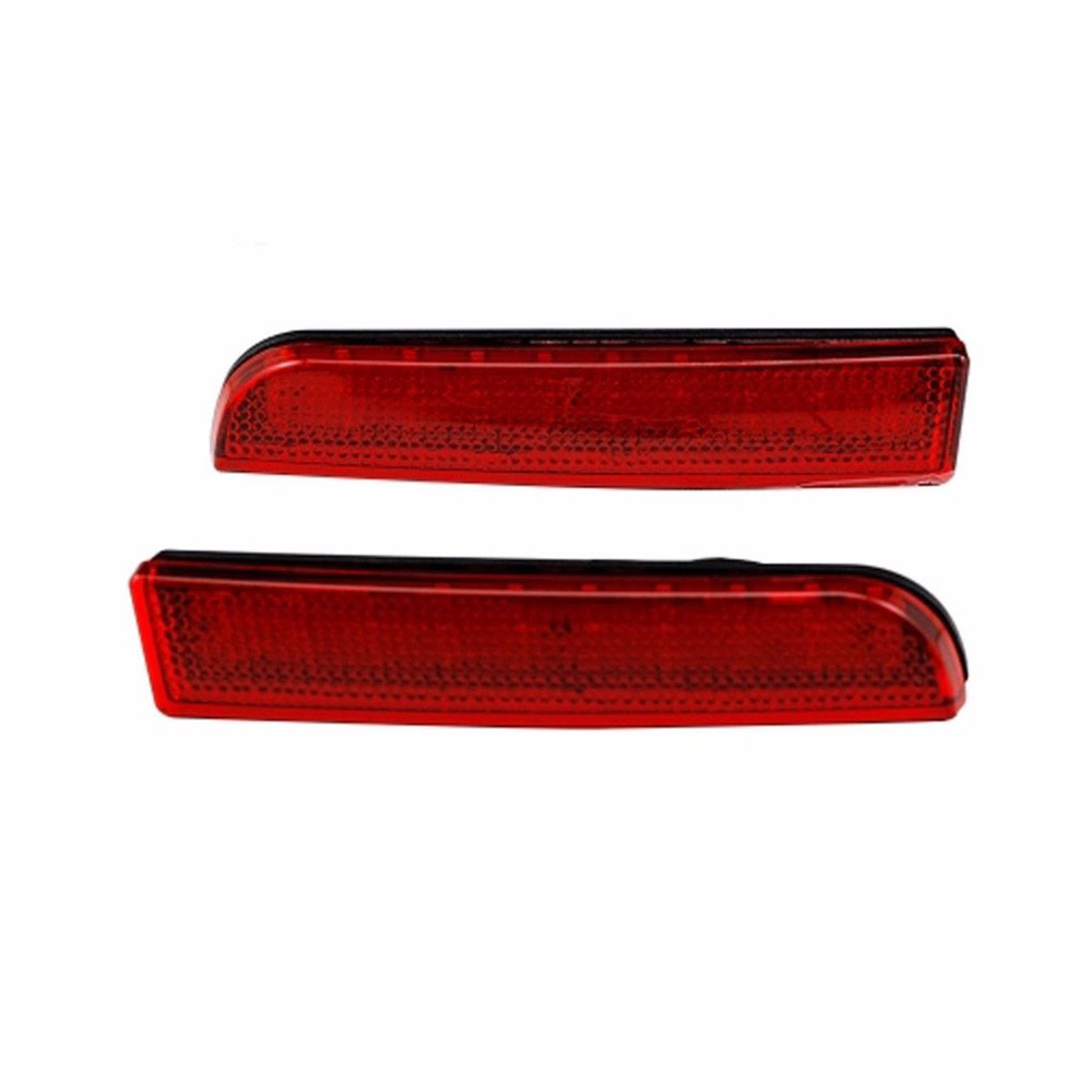 Mitsubishi Lancer  Rear Bumper Reflector Brake Light Lamp-1