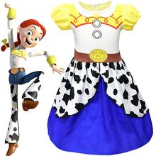 Toy Story and Beyond Jessie Costume 3 Child buzz Cowgirl Tunic Tank dress toddler dresses
