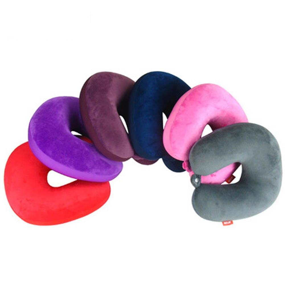 Inventive 2018 Color Random Special Massage Car Neck Grateful Car Neck Multi-function U-shaped Pillow A Plastic Case Is Compartmentalized For Safe Storage