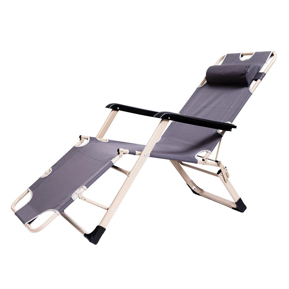 Maison Pliante De bureau Sieste Fauteuil inclinable Assis Pose Siesta Chaise longue Canapé D'hiver D'été Chaise De Plage De Pêche En Plein Air