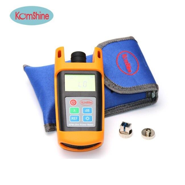 KOMSHINE KPM-25 Fiber Optic Power Meter Dector OPM FTTH Cable Tester FC/LC/SC/ST