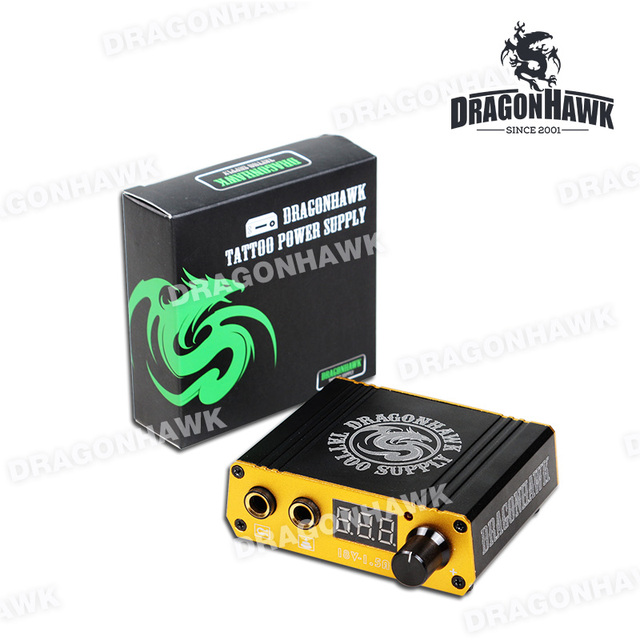Professional Digital Tattoo Power Box Mini Tattoo Power Supply For Tattoo Machine