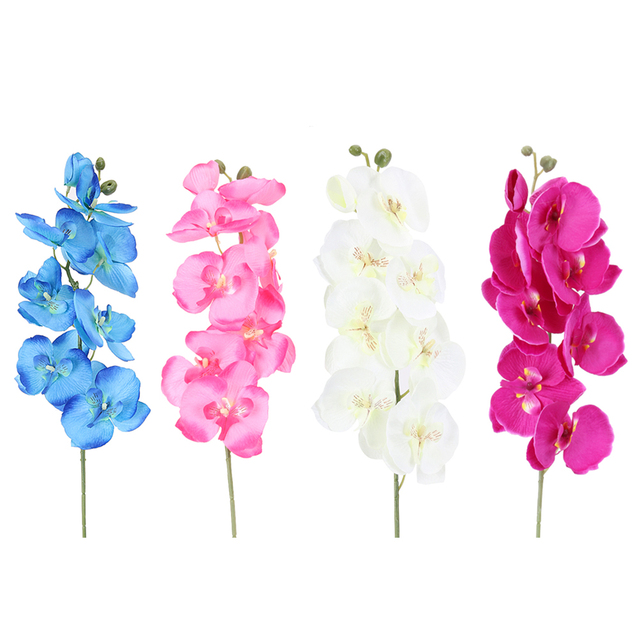Fashion orchid artificial flowers diy artificial butterfly orchid fashion orchid artificial flowers diy artificial butterfly orchid silk flower bouquet phalaenopsis wedding home decoration mightylinksfo