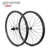 Go proe D T Swiss 350 Hub 29er MTB Carbon Wheel 33mm Width For Cross Country And All Mountain Bike Wheelset QR Or Boost