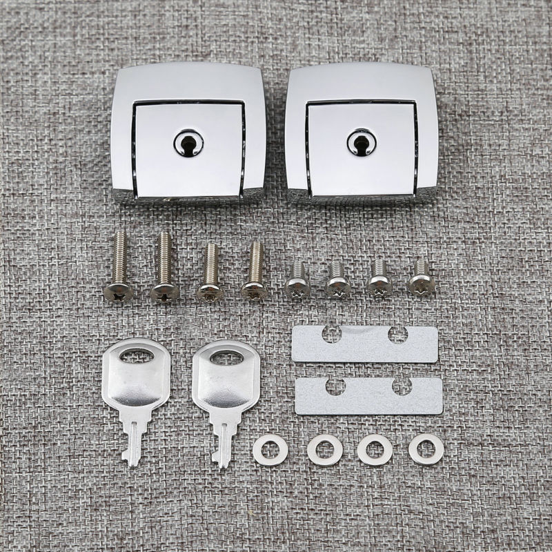 Choppde Lock Cover Tour Pak Kits For Harley Touring Ultra Glide Road King Electra Glide 88-13