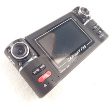 NEW 2.7 inch Dual cameras Car DVR double lens Camcorder dashboard car video recorder 170 degree wide angle