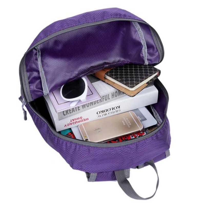 f552d9c0f5c9 Hot Outdoor Portable Foldable School backpack ultra light Travel Bagpack  Waterproof Nylon Knapsack Rucksack Yoga Backpack