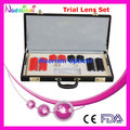 158L-SL 158pcs Optometry Trail Lens Set Plastic Color Rim Leather Case Packed Lowest Shipping Costs !