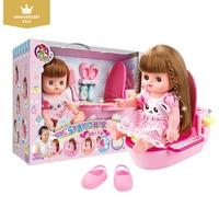 Kidsrun Baby Dream Princess doll Bathroom Children Small Music Toilet Set Toys Girl Playhouse Accessories Toy Christmas gift