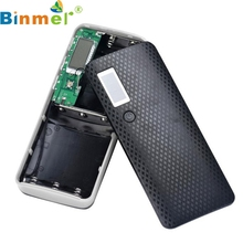 Binmer New Mecall 3 USB Ports 5V 2A 5x18650 Power Bank Batte