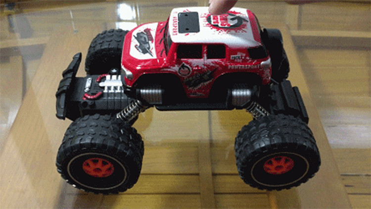 RC Car Bigfoot Doodle Climbing Car Toys 4 Wheel Drive Remote Control Car Structure Sport Utility Vehicle Model Kids Best Gift (1)