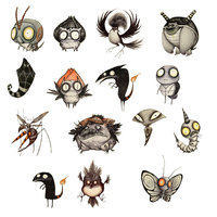 1 PC Cartoon Insect Badges for Clothes Kawaii Brooch Badge Acrylic Badges Icons on Backpack Pin Icon