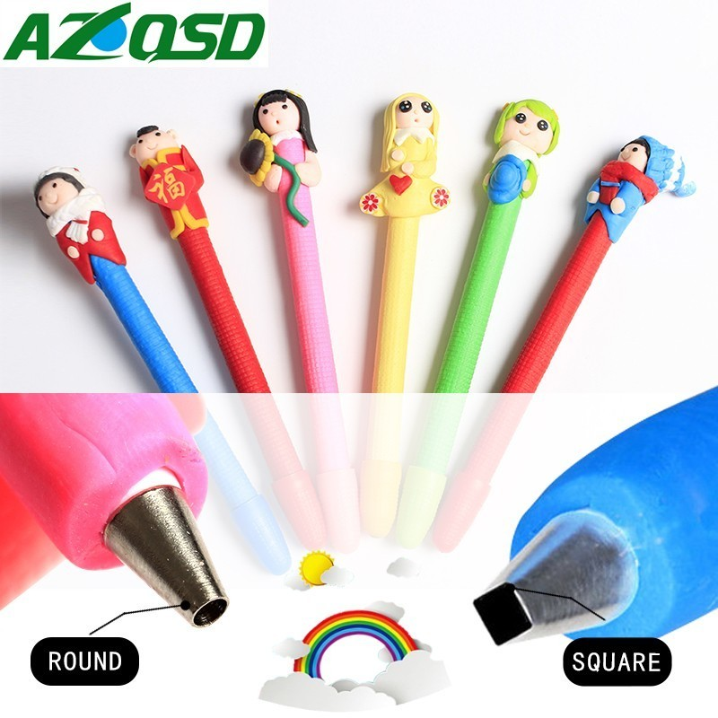 5D DIY Diamond Painting Tool Square Round Drill Point Pen Embroidery Accessories