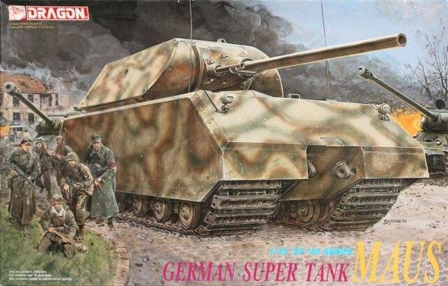 ФОТО DRAGON 6007 - 1/35 GERMAN SUPER TANK MAUS - Splice track