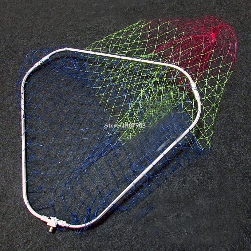 Sams fly fishing landing net trout fish saver triangular for Best fly fishing nets