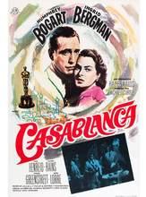 Cartaz clássico do filme de casablanca humphrey bogart ingrid bergman cartaz de seda pintura decorativa 24x36inch