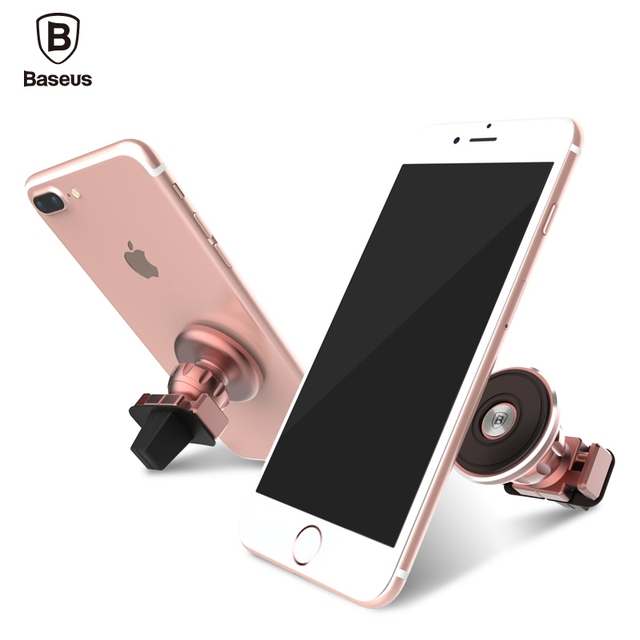 BASEUS Universal Aromatizing Car Mobile Phones Holder Stand Dock for iPhone 7 6S Plus 5C 4S SE for iPad for Samsung S7 Edge Note