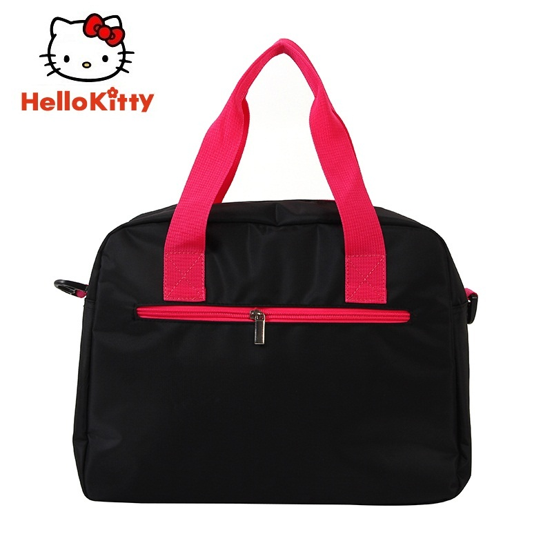 d24be2a35 Hello Kitty Women Sports Backpacks Girl Running Bag New Black Book Bag Cute  Outdoor School HHF64645-in Running Bags from Sports & Entertainment on ...