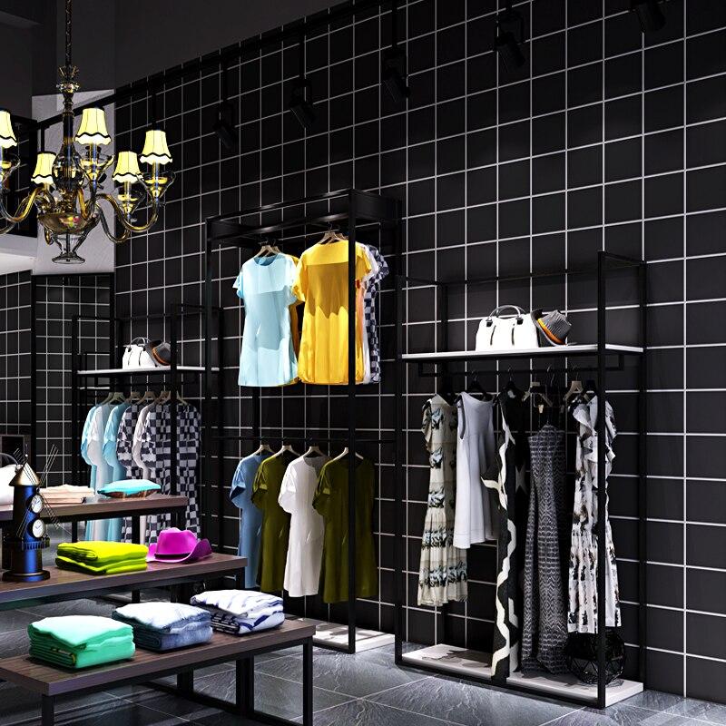 Bacaz виниловые черные 3d обои с квадратными рисунками рулон для стен ткань магазин ТВ фон 3d настенные покрытия 3d наклейки на стену