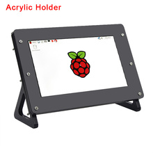 Raspberry Pi 3 7 inch LCD Screen Dispaly Acrylic Support Hol
