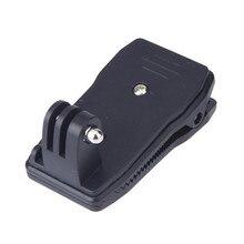 Рюкзак шляпа Rec крепление клипов быстросъемное крепление с зажимом вращение на 360 градусов для Gopro Hero 7/6/5/4/3/3 +/2/1