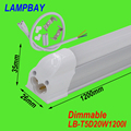 (30 Pack) Free Shipping Dimmable T5 integrated led tube 4ft 20W surface mounted bulb with accessory lighting bar