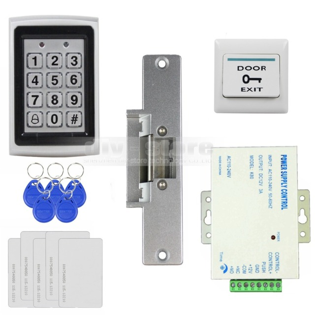 Diysecur 125khz Rfid Metal Case Keypad Door Access Control