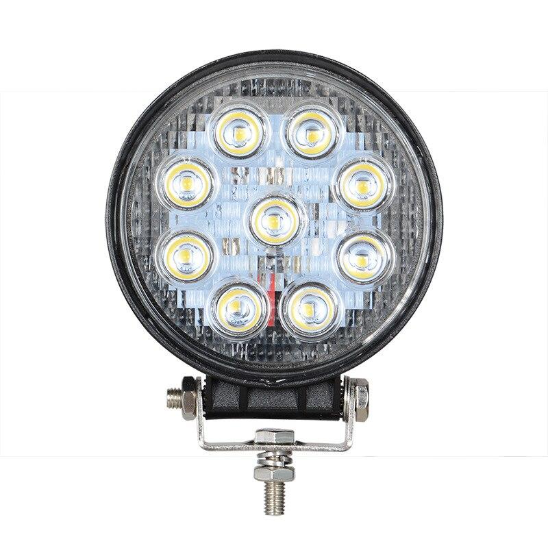1X 4inch 27W LED WORK LIGHT Flood Beam 24V 12V Led Tractor