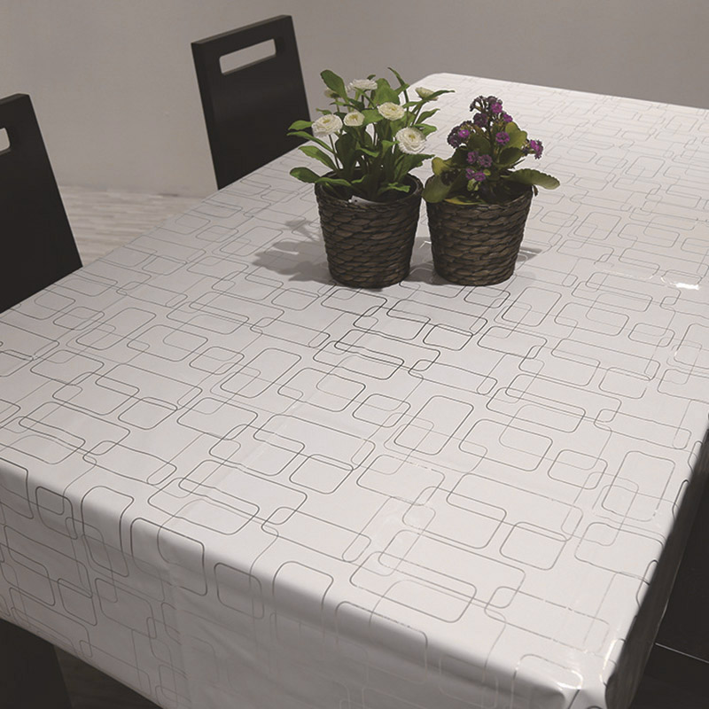 Newly Home Tablecloth Geometric Dining Room Table Cloth Tea Waterproof Cover Hotel 3 Size