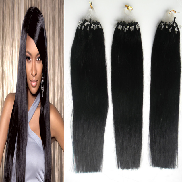 300s 10 28inch Humanhair Micro Rings Links Hair Extension Micro Loop Hair Extensions Remy Real Natural People Hair Extension On Aliexpress