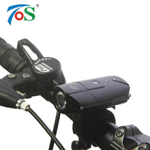 TOS USB Аккумуляторная Велосипед Передний Свет Велосипед Аксессуары Литиевая Батарея High Power Велоспорт Велосипед СВЕТОДИОДНЫЙ Головной Свет Водонепроницаемый