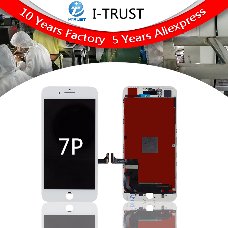 10PCS AUO Grade A LCD For iPhone 7 Plus LCD Replacement Touch Screen Digitizer Assembly Display