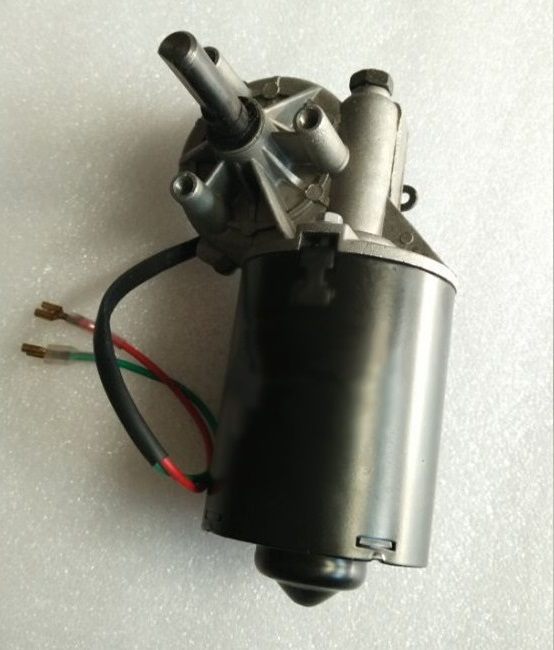 Worm Gear Motor for the garage, DC12V 42rpm 60Kg.cm Geared Motor left version , Self-locking function,rolling shutter door motor gw38zy dc 12v 24v worm gear motor double shaft low speed high torque geared box electric engine for diy robot rc car tank model