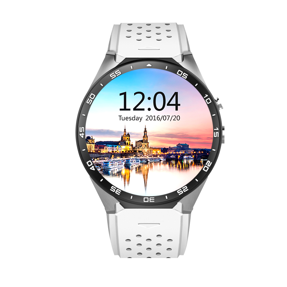 Smart Watch KW88 MTK6580 1.39 inch Android 5.1 Bluetooth 4.0 3G Amoled Screen Quad Core 512MB RAM 4GB ROM wifi GPS Pedometer smart baby watch q60s детские часы с gps голубые