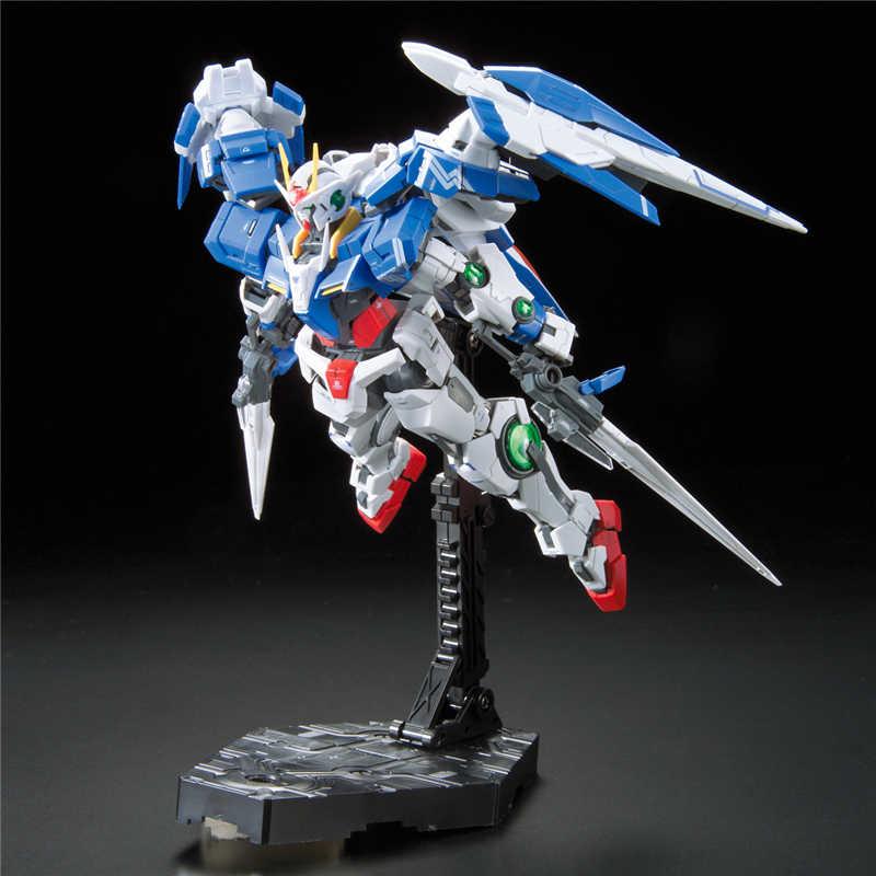 2019 חדש אמיתי RG 1/144 אנימה HG 00 גיוס Gundam GN-0000 דגם התאסף 13cm 00R רובוט פעולה איור gunpla קריקטורה ילדים צעצוע