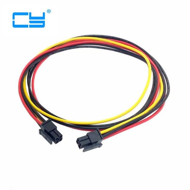 ATX Molex Micro Fit Anschluss 4Pin Stecker stecker netzkabel Kabel ...