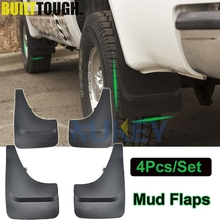 4Pc Large Pickup Mud Flaps Pick up Van Mudguards Splash Guards For Ford F Series Ranger Bronco Chevy Suburban Silverado Colorado