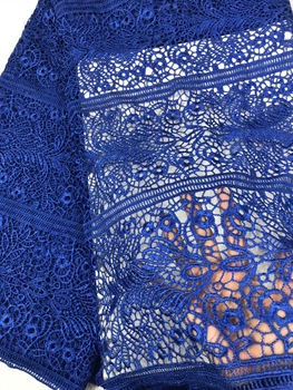 high quality nigerian lace fabric| african guipure lace fabric for sewing dress african water soluble lace fabric K-R1958